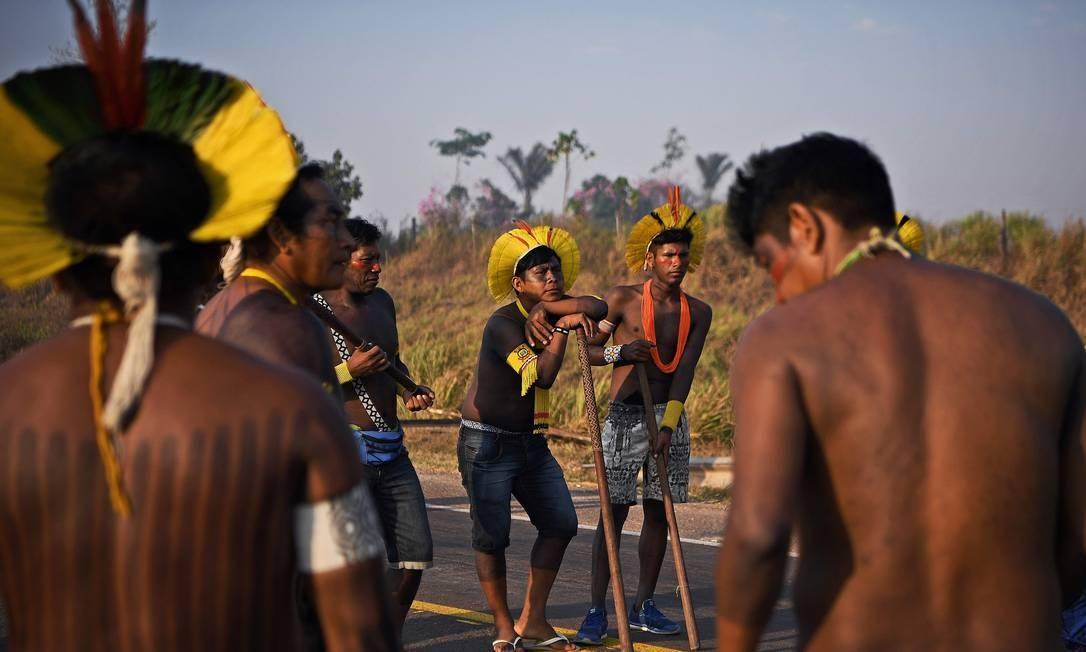 A taxa de mortalidade pela Covid-19 entre os indígenas da Amazônia Legal é 150% maior se comparado à média nacional, de acordo com uma análise feita pela Coordenação das Organizações Indígenas da Amazônia Brasileira (Coiab) e o Instituto de Pesquisa da Amazônia (Ipam) Foto: CARL DE SOUZA / AFP