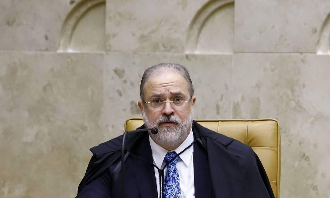 Augusto Aras Foto: Rousinei Coutinho/STF