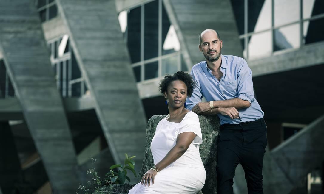 O MAM, Museu de Arte Moderna, apresenta seus novos diretores artisticos Keyna Eleison e Pablo Lafuente Foto: Leo Martins / Agência O Globo
