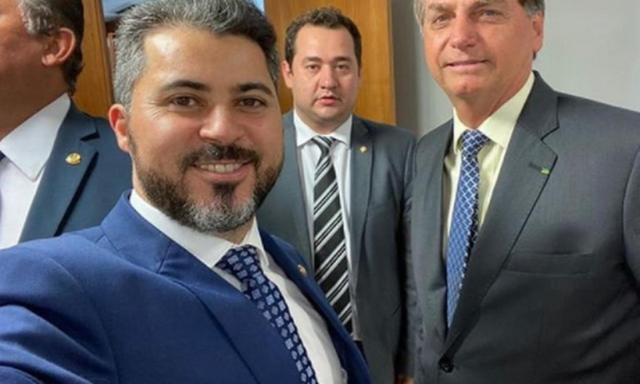 Senador bolsonarista Marcos Rogério (DEM-RO) Foto: Reprodução
