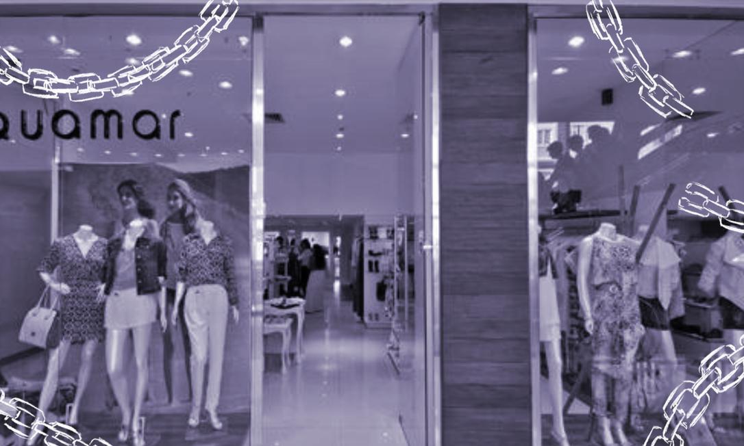 Ex-vendedoras denunciam fast-fashion carioca Aquamar por racismo, gordofobia e assédio moral. Foto: Infoglobo / Infoglobo