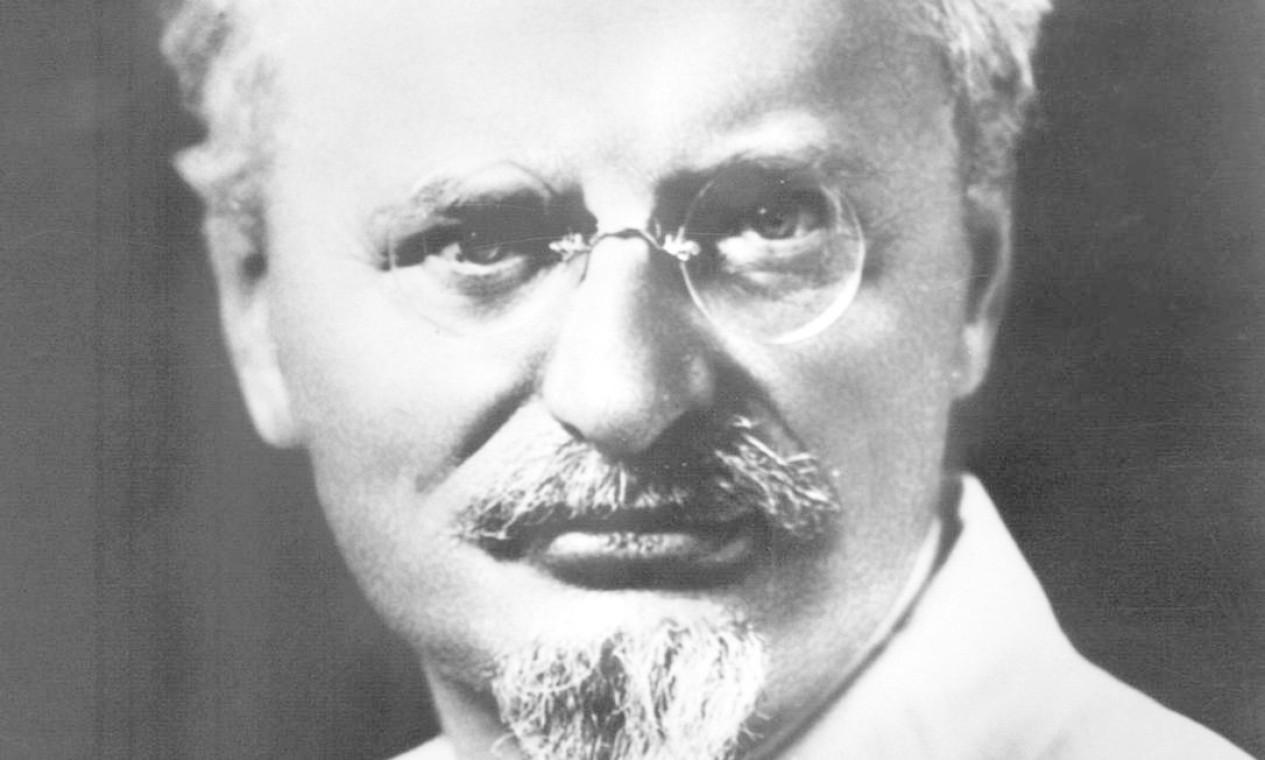 Lev Davidovitch Bronstein (1879-1940), mais conhecido como Leon Trotsky, um dos grandes ideólogos da Revolução Russa de 1917, foi assassinado por ordem de Stalin no México há 80 anos em 21 de agosto de 1940 Foto: STR / AFP