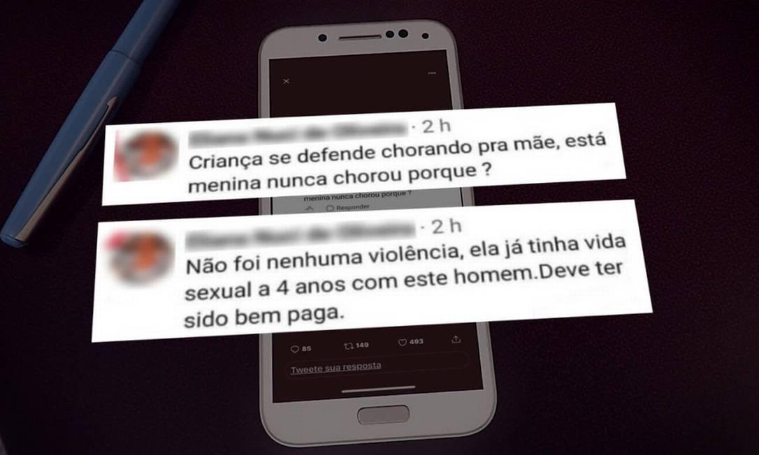 Mensagens foram publicadas em rede social da educadora Foto: Reprodução/TV Globo