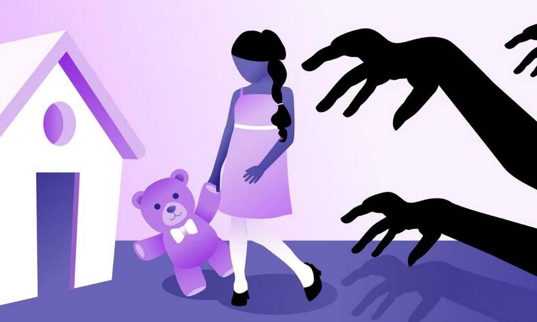 Os direitos reprodutivos e sexuais na infância visam a proteção e prevenção desse grupo por meio do acesso à informação, mas o tema ainda é tabu no país. Foto: Arte de Ana Luiza Costa / Arte de Ana Luiza Costa