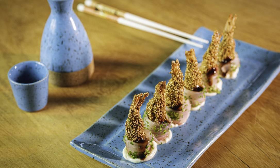 Prato do Sushi das Artes Foto: Divulgação