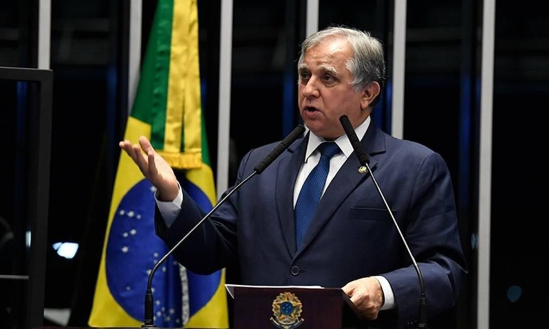 Senador Izalci Lucas (PSDB - DF) votou pela derrubada do veto Foto: Edilson Rodrigues / Agência O Globo