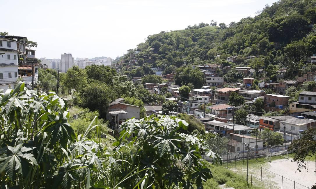 Comunidade Viradouro, em Santa Rosa, Niterói Foto: Fábio Guimarães / Agência O Globo