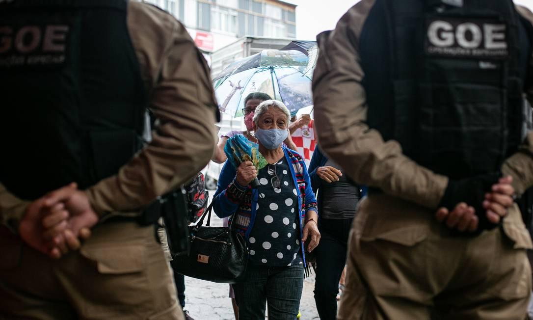 Guarda Municipal pode ser armada no Rio Foto: Hermes de Paula em 07-05-2020 / Agência O Globo