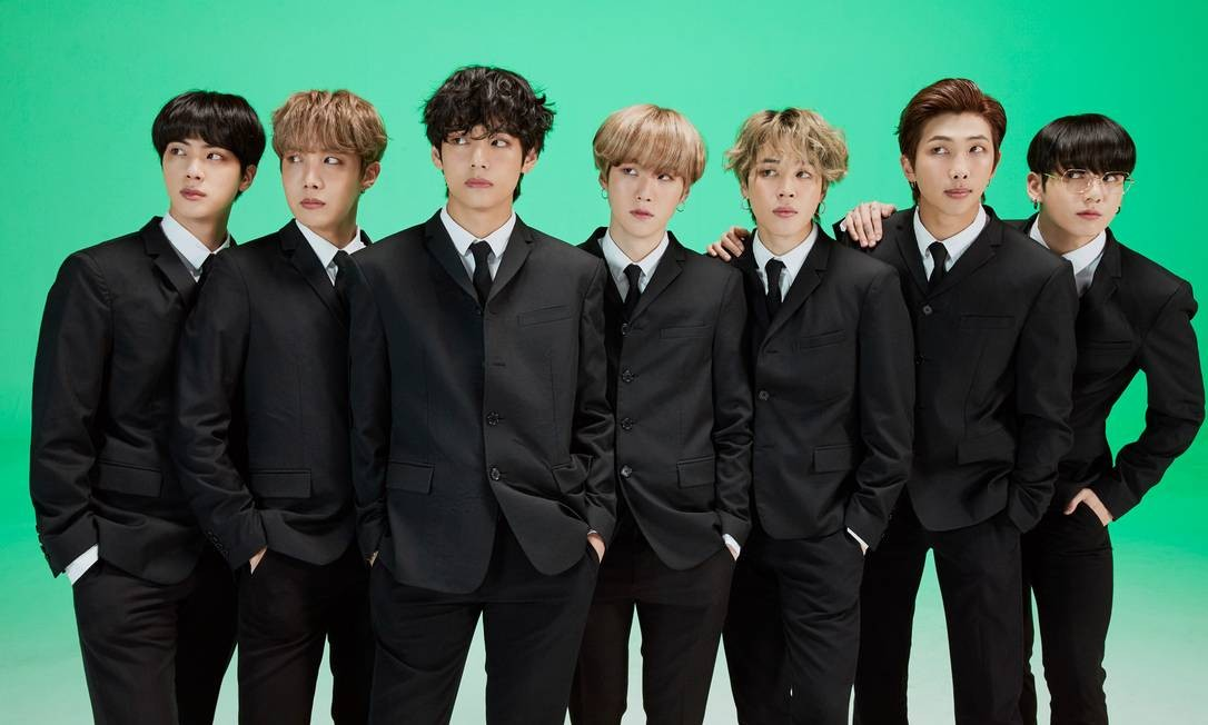 O grupo BTS Foto: Divulgação