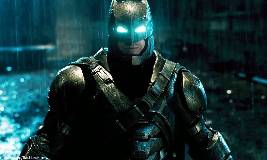 """SC - Batman - 2016 - Ben Affleck no filme """"Batman V Superman"""""""