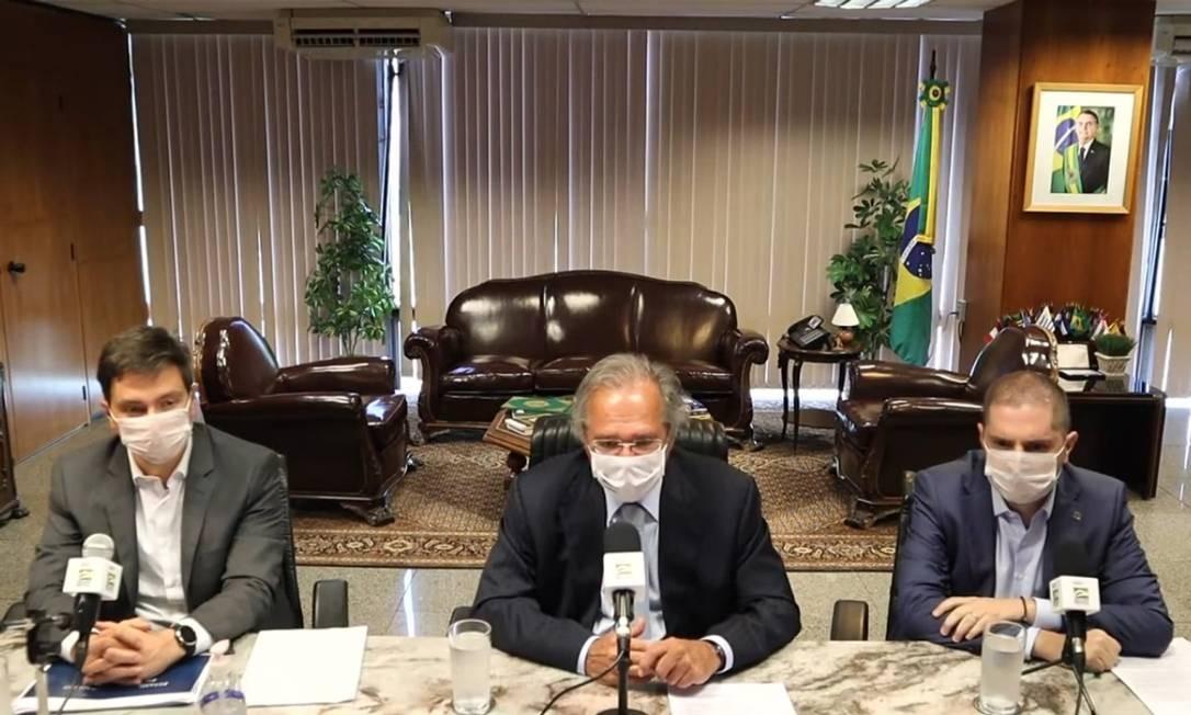 """""""Big bang day"""" do governo irá lançar num só dia o chamado Renda Brasil, medidas para geração de empregos, novos marcos legais e ações para corte de gastos Foto: Reprodução"""