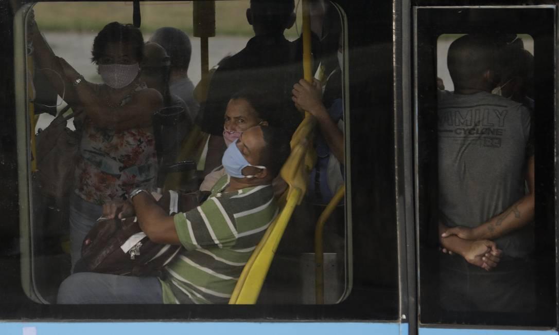 Terminal Alvorada do BRT Foto: Luiza Moraes / Agência O Globo