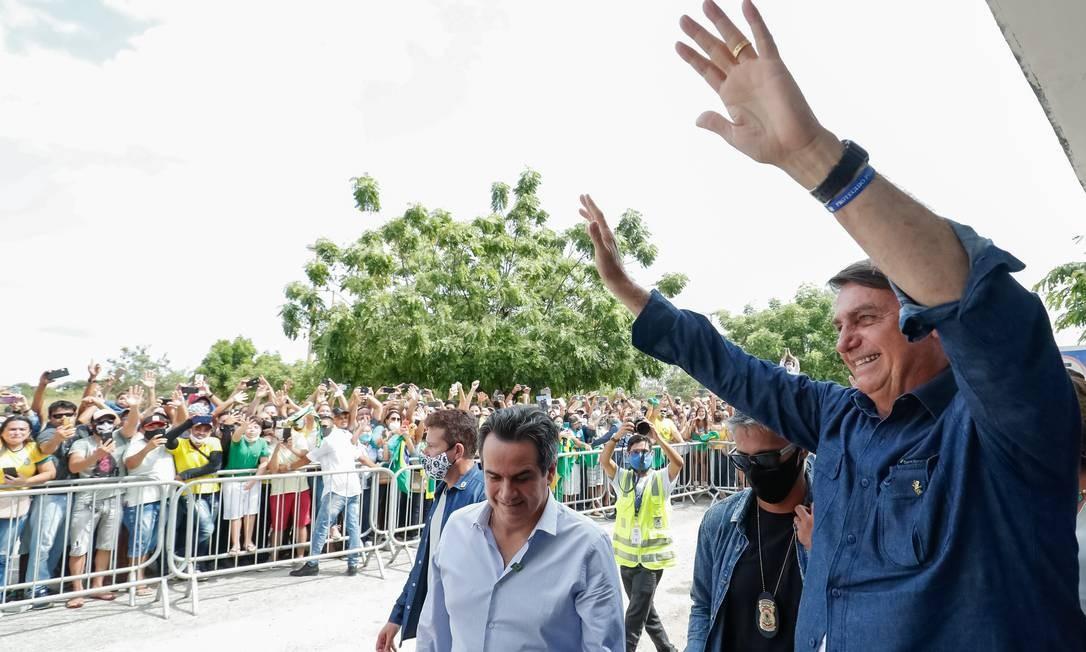 Em visita ao Nordeste, Bolsonaro faz aceno ao Congresso e chama ...