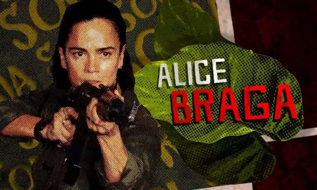 Alice Braga no teaser de 'Esquadrão Suicida 2' Foto: Reprodução