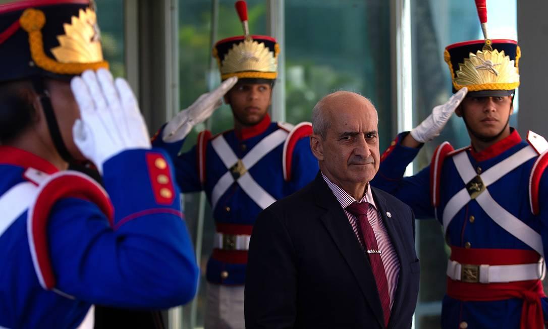 Luiz Eduardo Ramos, ministro-chefe da Secretaria de Governo Foto: Jorge William / Agência O Globo