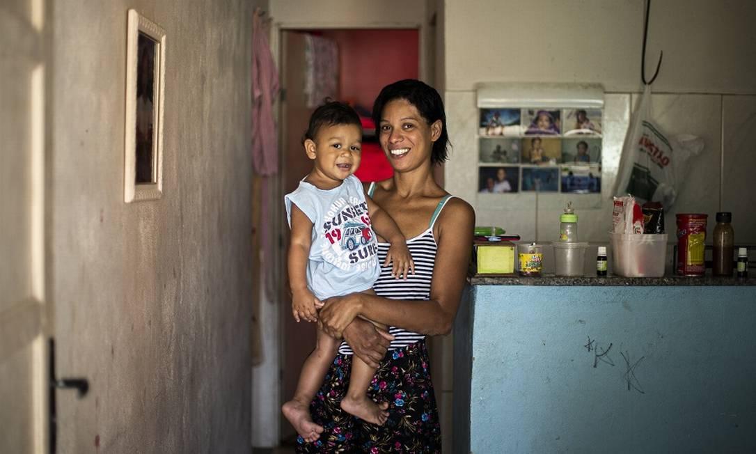 Bolsa Família, que será substituído pelo Renda Brasil, beneficiou saúde e educação nos lares mais pobres. Foto: Hermes de Paula / Agência O Globo