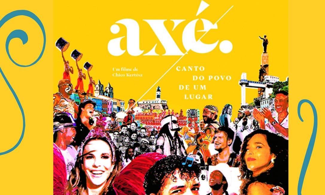 'Axé: Canto do Povo de Um Lugar': documentário dirigido por Chico Kertész e lançado em 2017 Foto: Divulgação