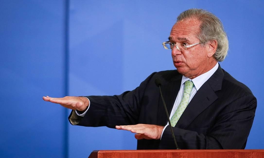 Guedes: Renda Brasil com R$ 247. Foto: Pablo Jacob / Agência O Globo
