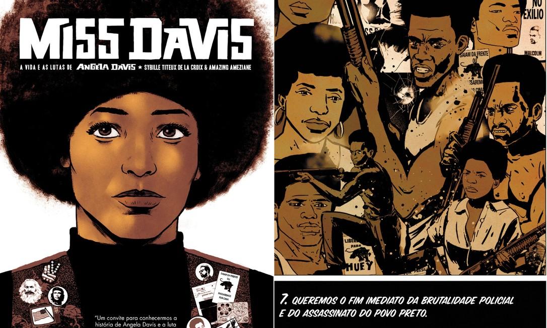 'Queremos o fim imediato da brutalidade policial e do assassinato do povo preto' exigiam os Panteras Negras Foto: Reprodução/Agir