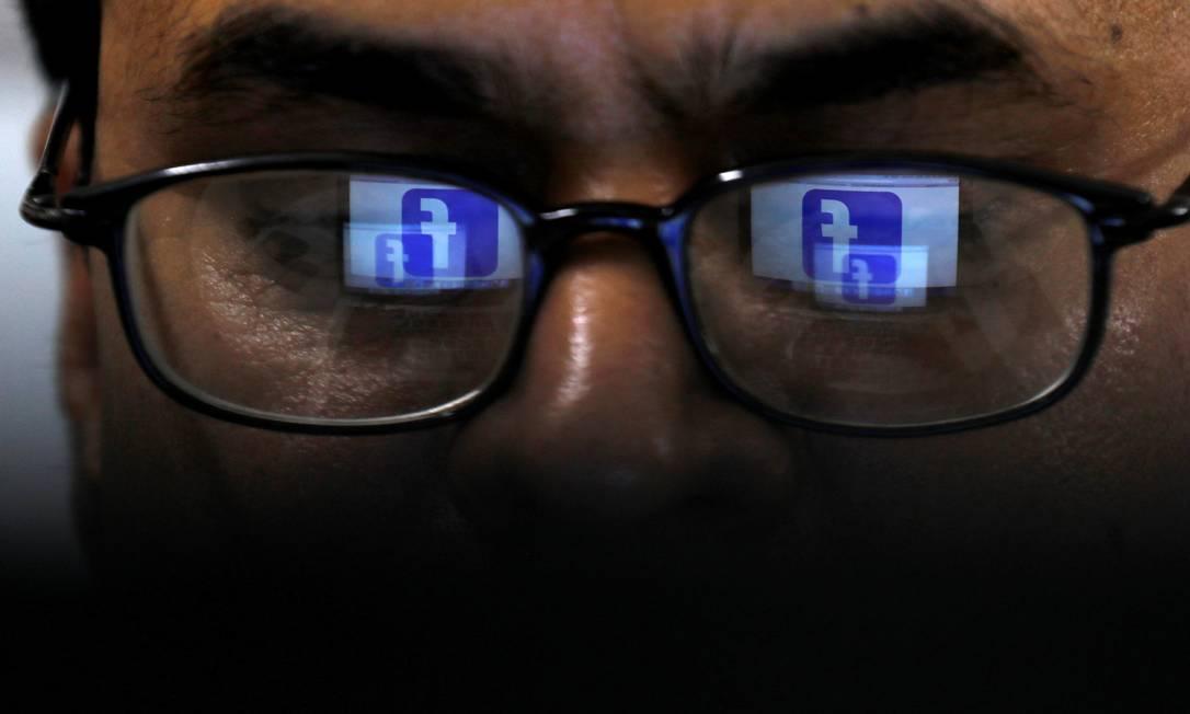 Empresas de tecnologia, como o Facebook, estão no radar da equipe econômica Foto: Akhtar Soomro / REUTERS