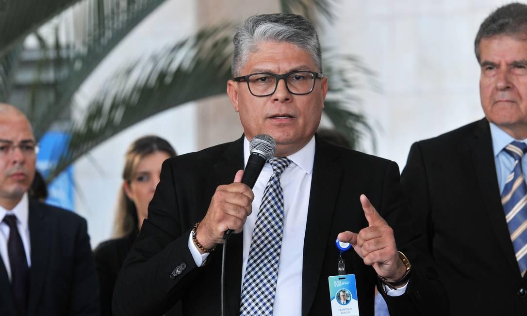 O secretário de Saúde do Distrito Federal, Francisco Araújo Foto: Vinícius de Melo / Agência Brasília