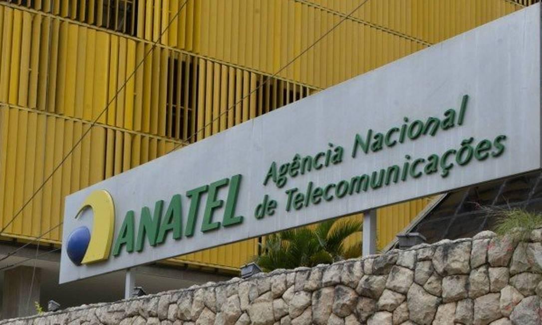 Fachada da Anatel: órgão analisa regras do leilão do 5G Foto: Michel Filho