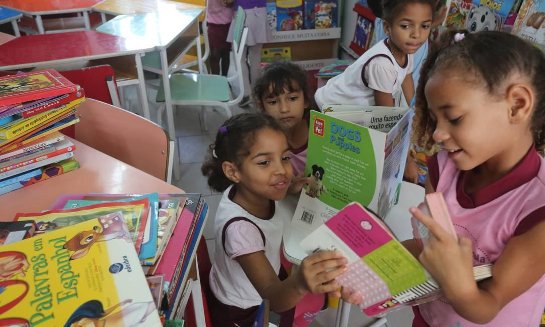 Escola de educação básica em Mesquita, na Baixada Fluminense Foto: Custódio Coimbra / Agência O Globo