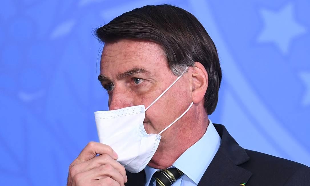Presidente Jair Bolsonaro Foto: EVARISTO SA / AFP