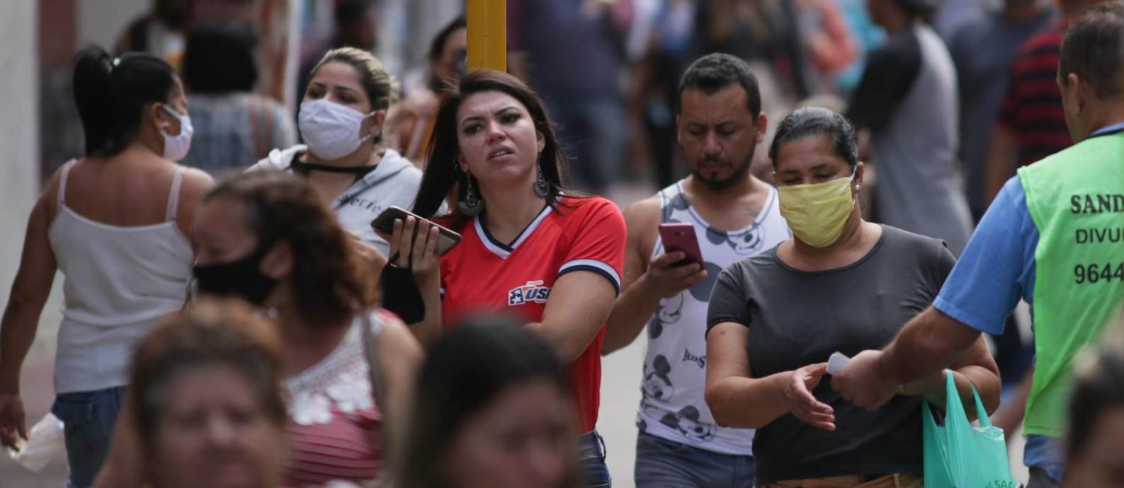 A cidade de Belford Roxo, no Rio, teve aumento de infectados pela Covid-19 Foto: Cléber Júnior / Agência O Globo