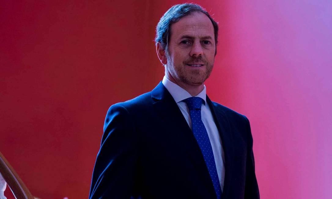 Frederico Falcão, presidente da ViniPortugal Foto: Rui Gaudêncio/Público