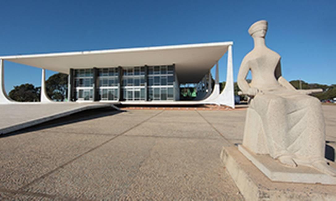 Sede do Supremo Tribunal Federal, em Brasília Foto: Divulgação/ STF
