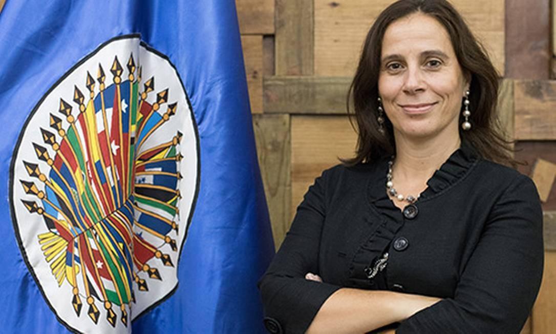 A vice-presidente da CIDH, a chilena Antonia Urrejola Noguera Foto: Divulgação/CIDH OEA