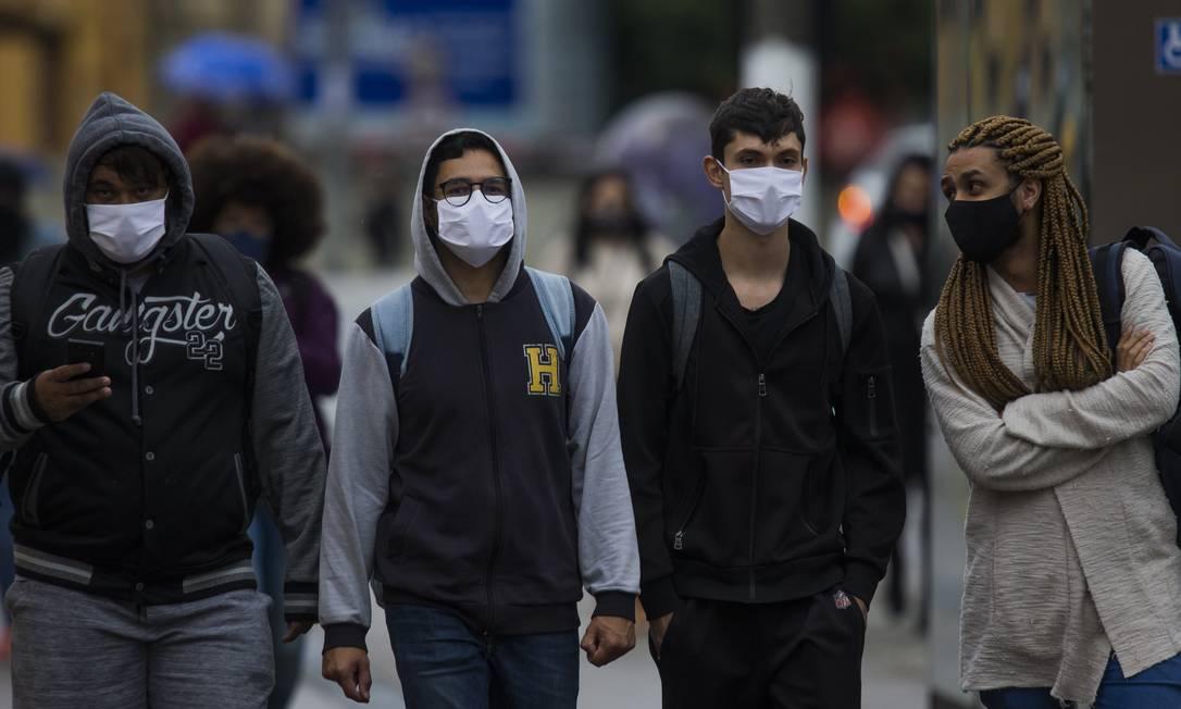 Pandemia da Covid-19 completa seis meses no Brasil Foto: Edilson Dantas / Agência O Globo