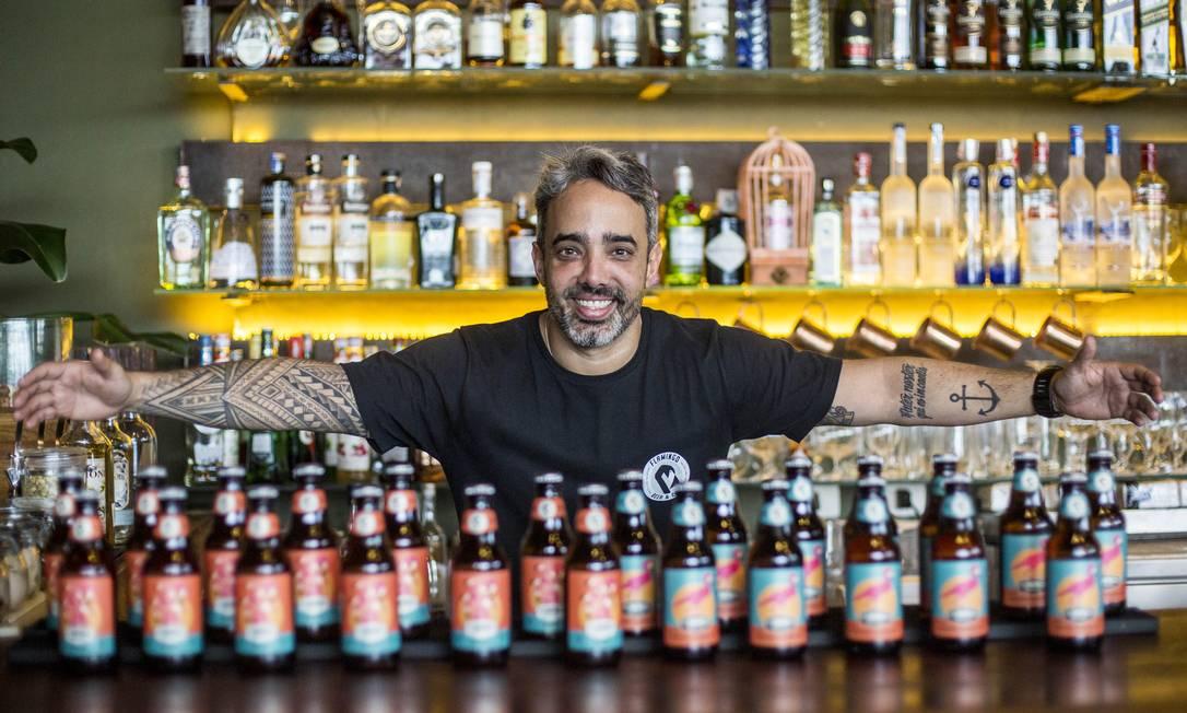 Rafael Adour, da Flamingo Beer: investimento no nicho de eventos Foto: Divulgação/Daniel Ramalho