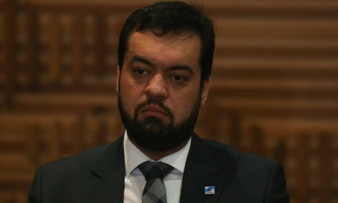Com o afastamento de Wilson Witzel, Cláudio Castro assume o governo do estado Foto: Pedro Teixeira em 12/03/2019 / Agência O Globo