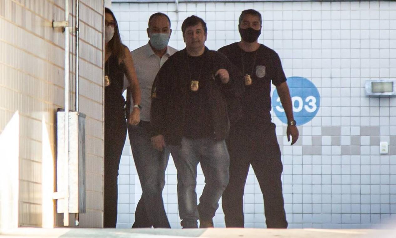 Pastor Everaldo foi preso em sua casa no bairro do Recreio, Zona Oeste do Rio Foto: Hermes de Paula / Agência O Globo