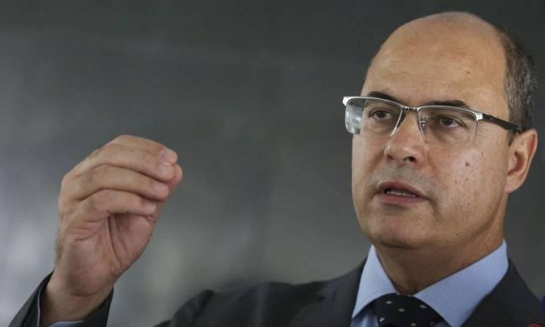 Não há ordem de prisão contra Witzel, assume o Estado o vice-governador, Cláudio Castro (PSC) Foto: ANTONIO CRUZ/AGÊNCIA BRASIL