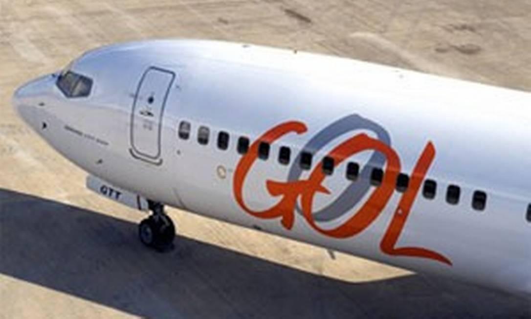 Avião da Gol: limite próximo para pagamento de débito. Foto: Arquivo