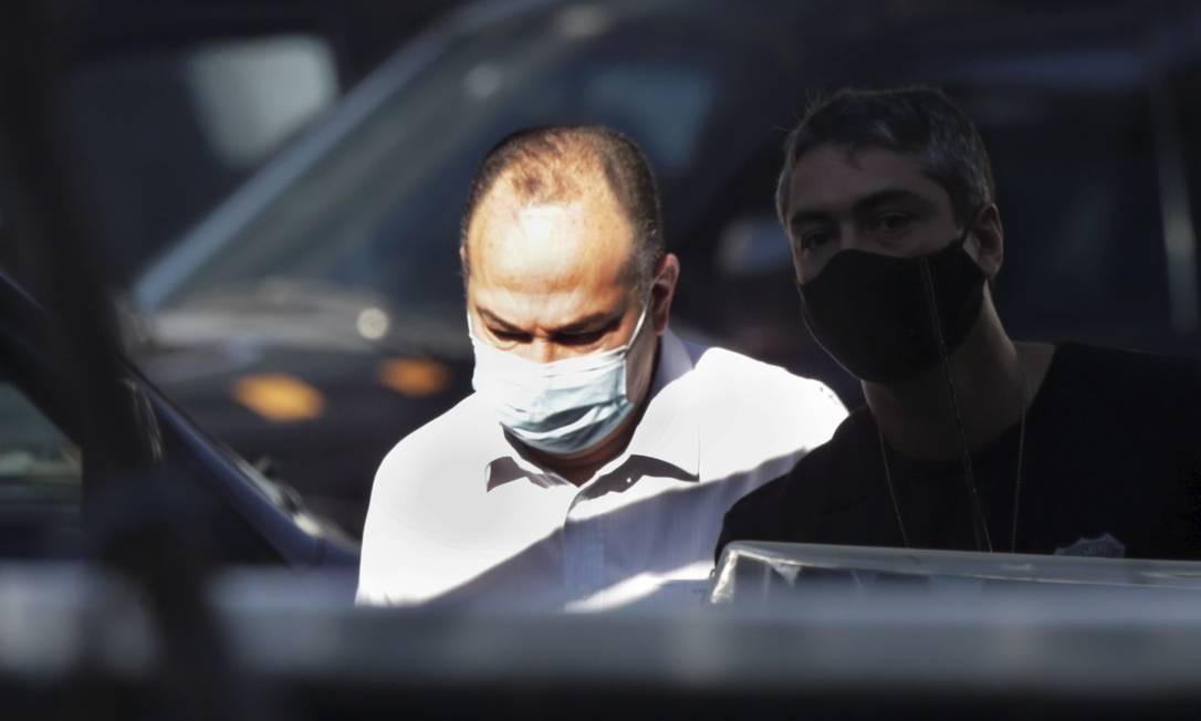 Pastor Everaldo foi preso pela PF por suposto envolvimento em fraudes na Saúde do Rio Foto: Marcia Foletto / Agência O Globo