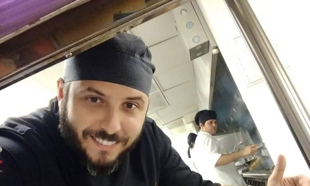 Na pandemia, chef Diogo Brasil lançou feijoada com sua assinatura Foto: Divulgação/Diogo Brasil