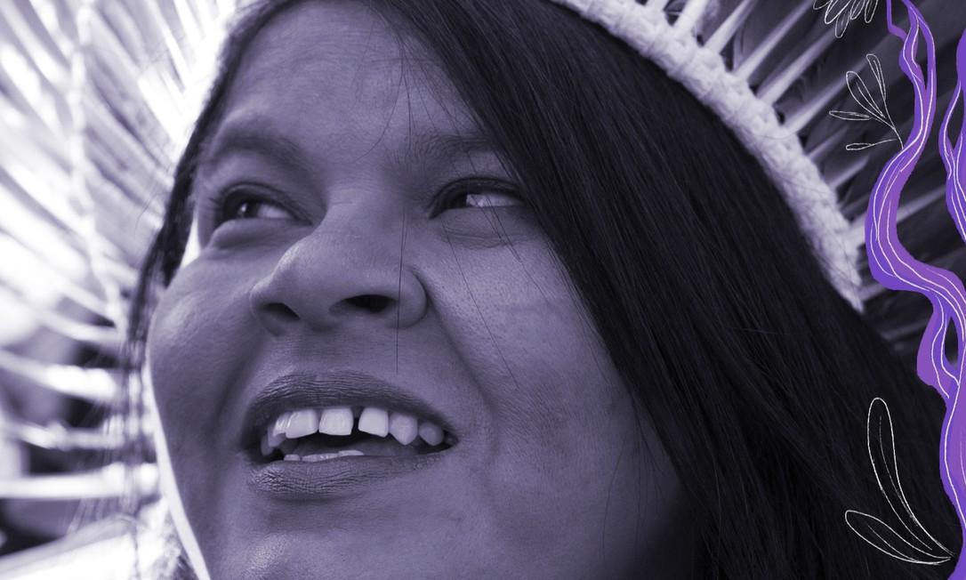 Sonia Guajajara é coordenadora da Articulação dos Povos Indígenas do Brasil (Apib), e foi a primeira mulher indígena a concorrer à vice-presidência do Brasil, pelo Psol, ao lado de Guilherme Boulos, em 2018 Foto: Edilson Dantas / Agência O Globo