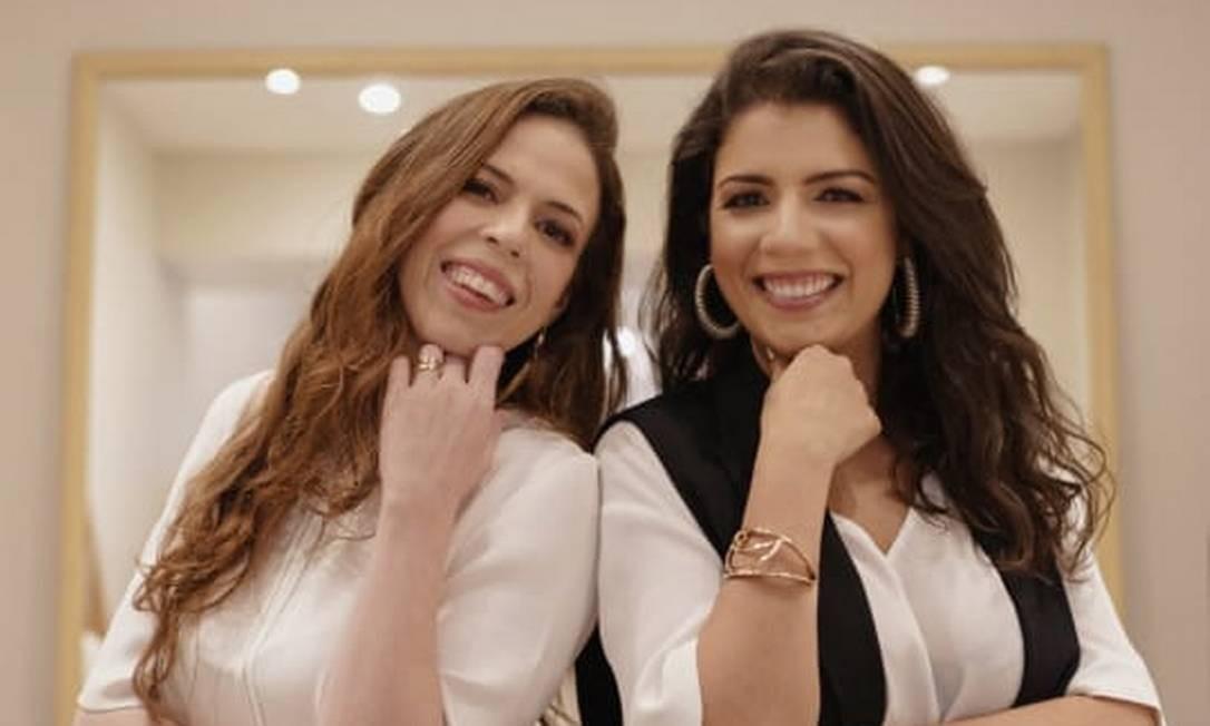 Manoela e Morena: irmãs fazem coleção juntas inspirada em escritoras feministas Foto: Divulgação/Marlon Macosa