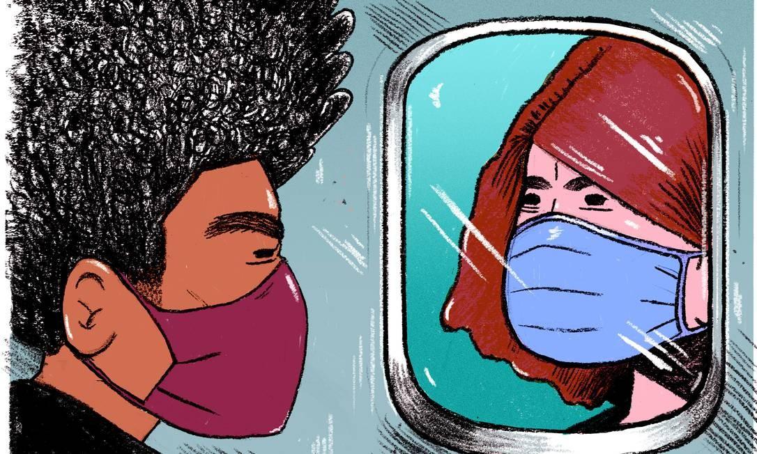 Fla-Flu turístico: viagens durante a pandemia têm causado brigas e discussões entre amigos e familiares Foto: Annelise Capossela / The New York Times