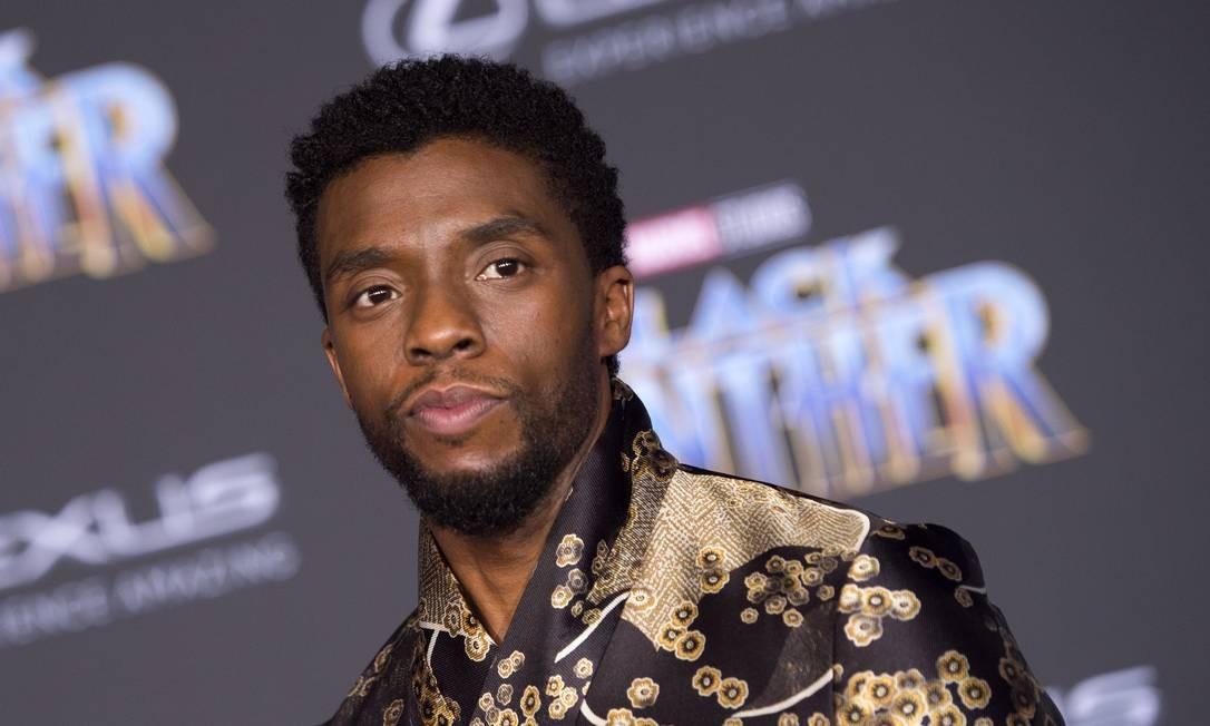 O ator Chadwick Boseman, em 2018 Foto: VALERIE MACON / AFP