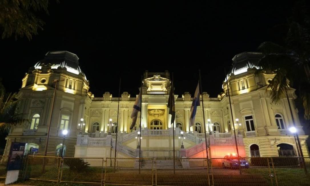 Palácio Guanabara. sede do governo do estado Foto: Pedro Teixeira / Agência O Globo