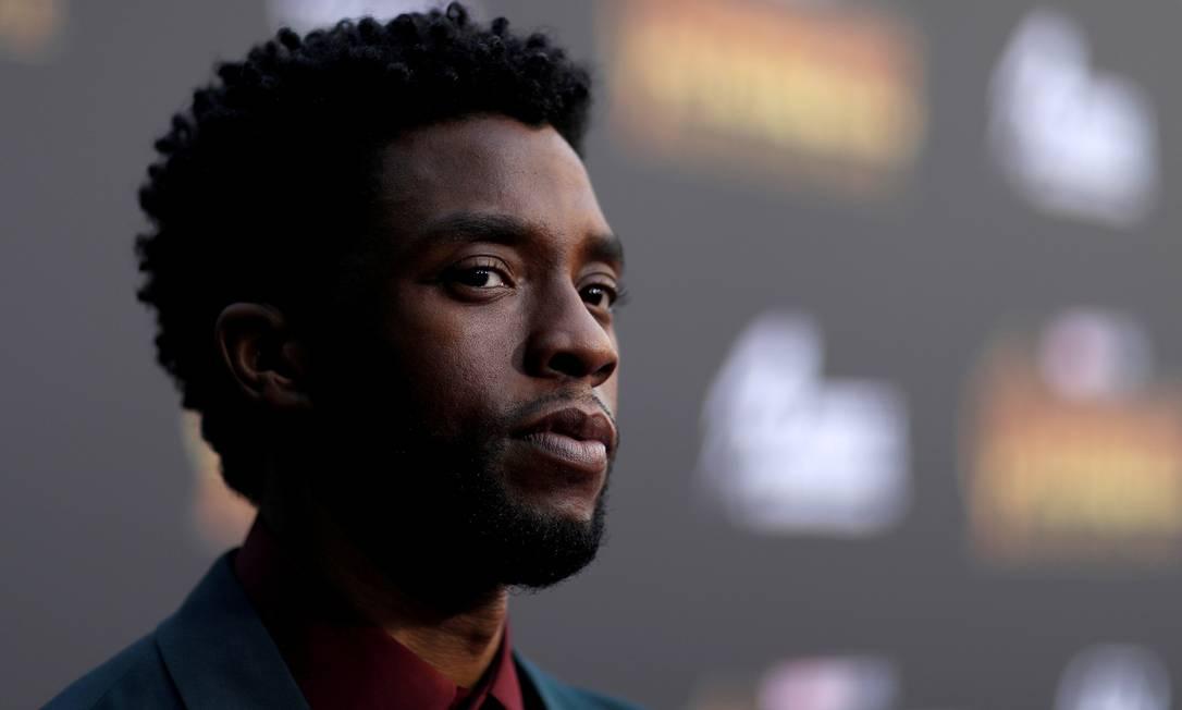 O ator Chadwick Boseman Foto: Mario Anzuoni / REUTERS