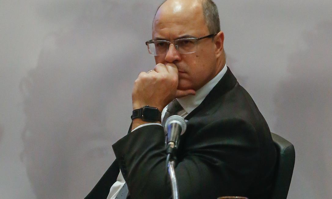 Relator apresentou parecer favorável ao impeachment de Wilson Witzel Foto: Marcelo Régua em 22-7-2019 / Agência O GLOBO
