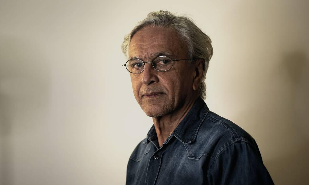 Em 1968, Caetano foi preso por agentes à paisana e passou 54 dias na cadeia Foto: Aline Fonseca / Divulgação