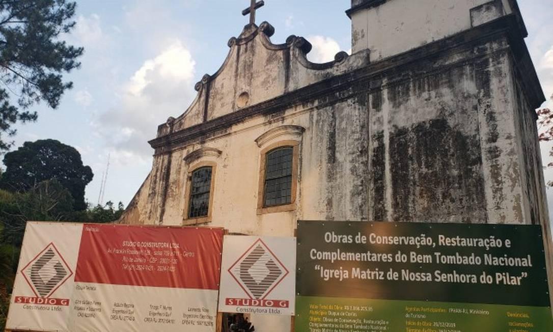 Obras para restauração comandadas pelo Iphan podem parar com bloqueio de orçamento Foto: Daniela Reis / Infoglobo