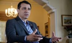 O governador de Santa Catarina, Carlos Moisés Foto: Ricardo Wolffenbüttel/Divulgação